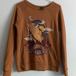 Obey High and Mighty Crewneck Sweatshirt XS